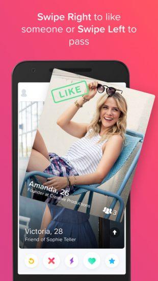 Example dating app bio